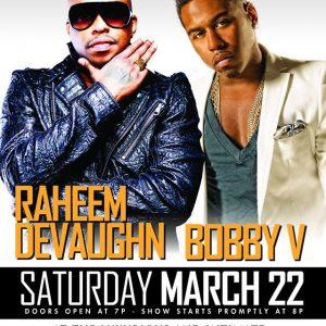Raheem DeVaughn Bobby V - Portsmouth Virgina - March 22 2014 Side 2